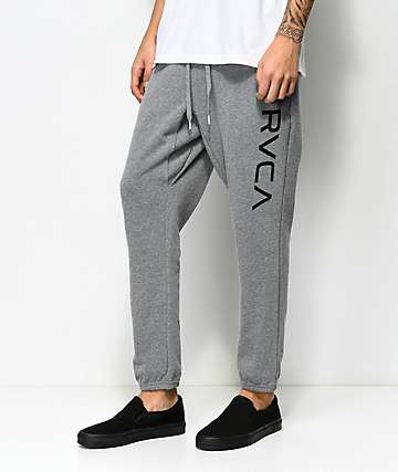 RVCA Big Grey Sweatpants