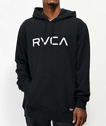 RVCA Big RVCA Black Hoodie