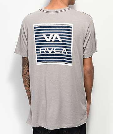 RVCA Blinder VA Overcast camiseta gris