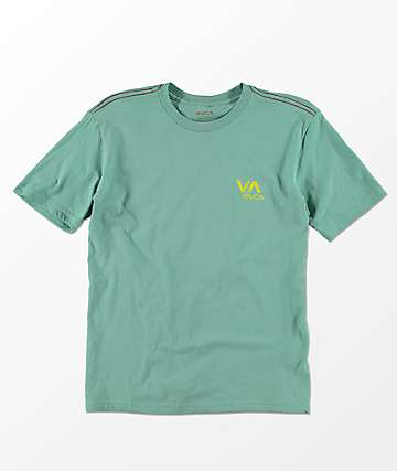RVCA Boys VA Ink Green Haze T-Shirt