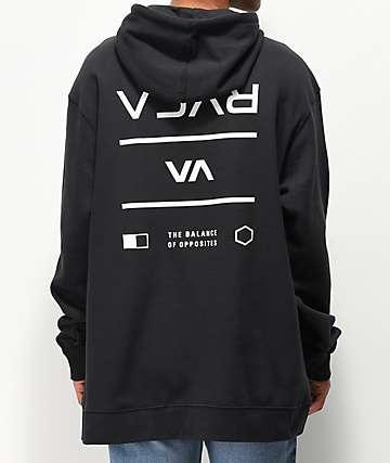 RVCA Builder sudadera con capucha negra