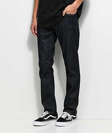 RVCA Daggers Deep Indigo Jeans