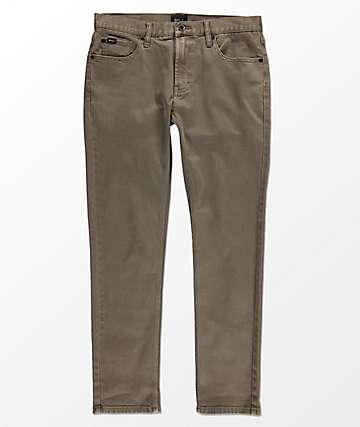 RVCA Daggers Mushroom Pigment Denim Jeans