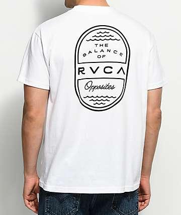 RVCA Day Shift White T-Shirt