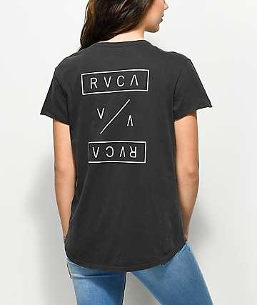 RVCA Far End Black T-Shirt