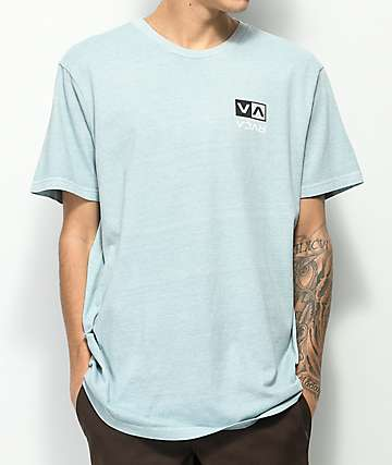 RVCA Flip Box Mint T-Shirt
