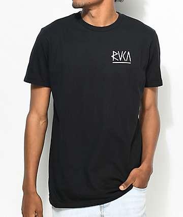 RVCA Flip Standard camiseta negra