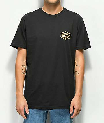 RVCA Global Hex Black T-Shirt