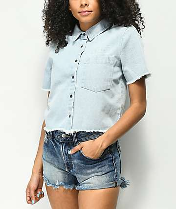RVCA Gone Fishing Denim Shirt