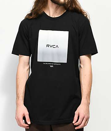 RVCA Graded Black T-Shirt