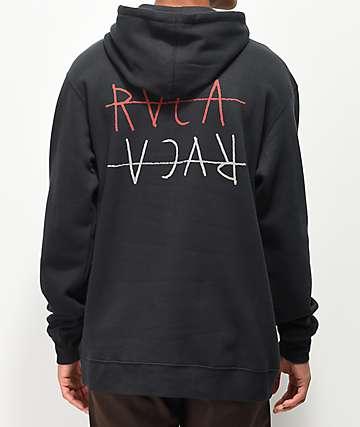 RVCA Horton Flipped sudadera con capucha negra