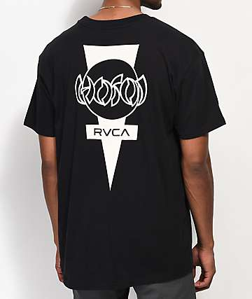 RVCA Hosoi Dayshift Black Pocket T-Shirt