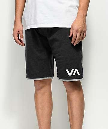 RVCA Layers II shorts deportivos en negro