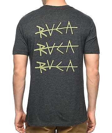 RVCA Line  Black Vintage T-Shirt