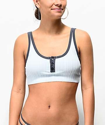 RVCA Linear Ice Bikini Top