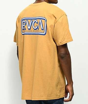 RVCA Octane camiseta dorada