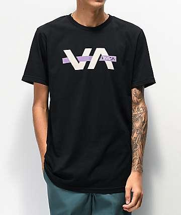 RVCA Random Box Black T-Shirt