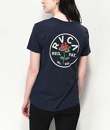 RVCA Rosie camiseta gris