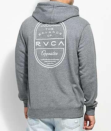 RVCA Sea Sun Grey Hoodie