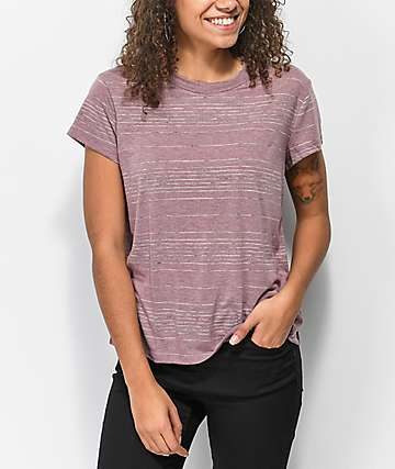 RVCA Suspension 2 Magenta Fade T-Shirt