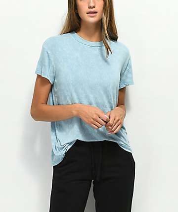RVCA Suspension Blue Crest T-Shirt