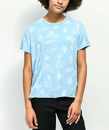RVCA Suspension Blue T-Shirt