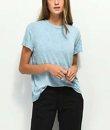 RVCA Suspension camiseta con azul claro