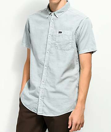 RVCA That'll Do Cosmos Washed Button Up Shirt