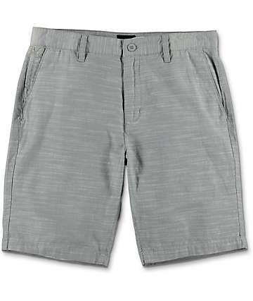 RVCA Twisted Twenty Light Grey Chino Shorts