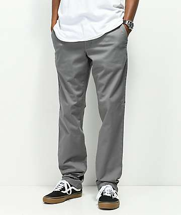 RVCA Weekend Stretch Chino pantalones grises