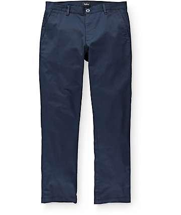 RVCA Weekend Stretch pantalón chino en azul marino