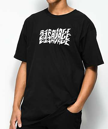 RadYo! x 21 Savage Issa Black T-Shirt