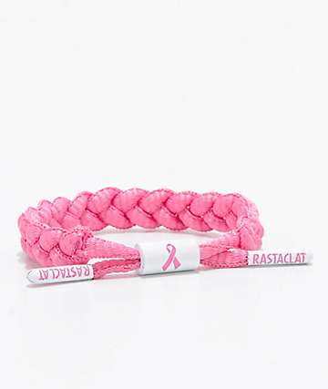 Rastaclat Awareness Pink Mini Clat Bracelet