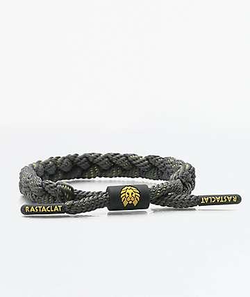 Rastaclat Classic Bravo Grey & Yellow Bracelet