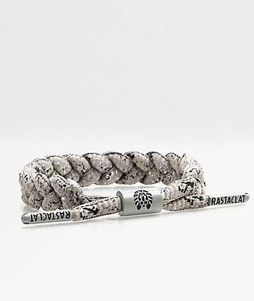Rastaclat Classic Curbside Grey & Black Bracelet