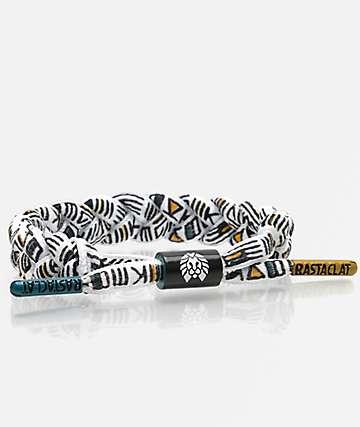 Rastaclat Classic Haring White & Black Bracelet