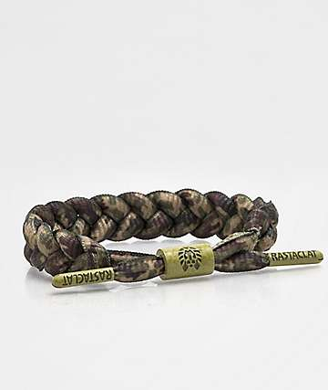 Rastaclat Classic Woodland pulsera camuflada