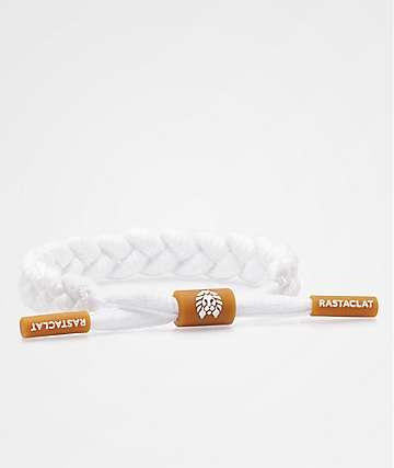 Rastaclat Gum White Bracelet