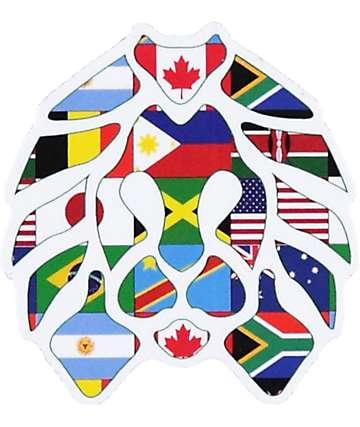 Rastaclat International Sticker