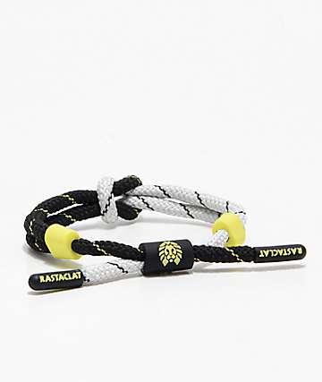 Rastaclat Knotaclat Trainer Black & Green Bracelet