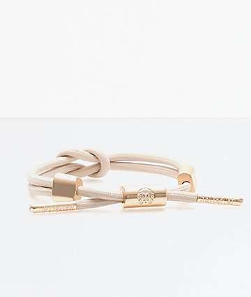 Rastaclat Lana Knotaclat Tan Bracelet