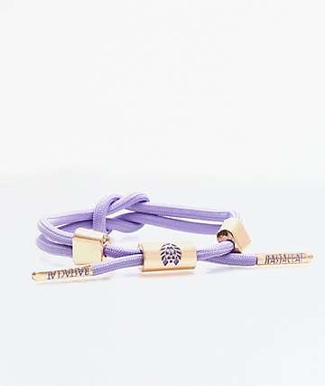Rastaclat Miniknot Violet Bracelet