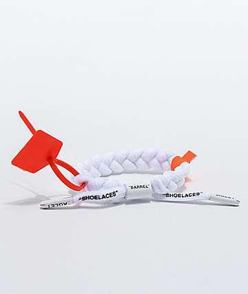 Rastaclat Off-Clat White Bracelet