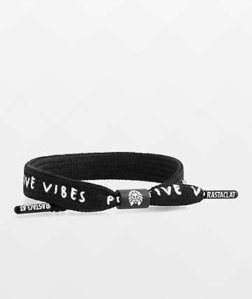 Rastaclat Positive Vibes Black Bracelet