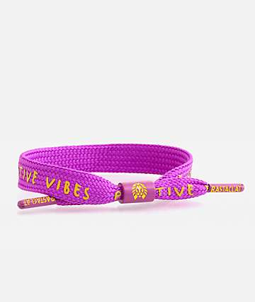 Rastaclat Positive Vibes Purple Bracelet