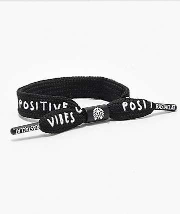 Rastaclat Positive Vibes pulsera negra