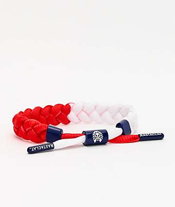 Rastaclat Stars Red, White & Blue Bracelet