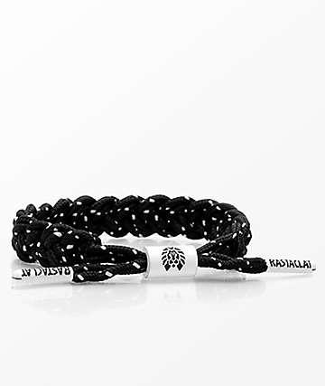 Rastaclat Stimulus Classic Black & White Bracelet