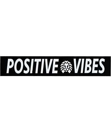 Rastaclat pegatina Positive Vibes