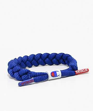 Rastaclat x Champion Classic Blue Bracelet